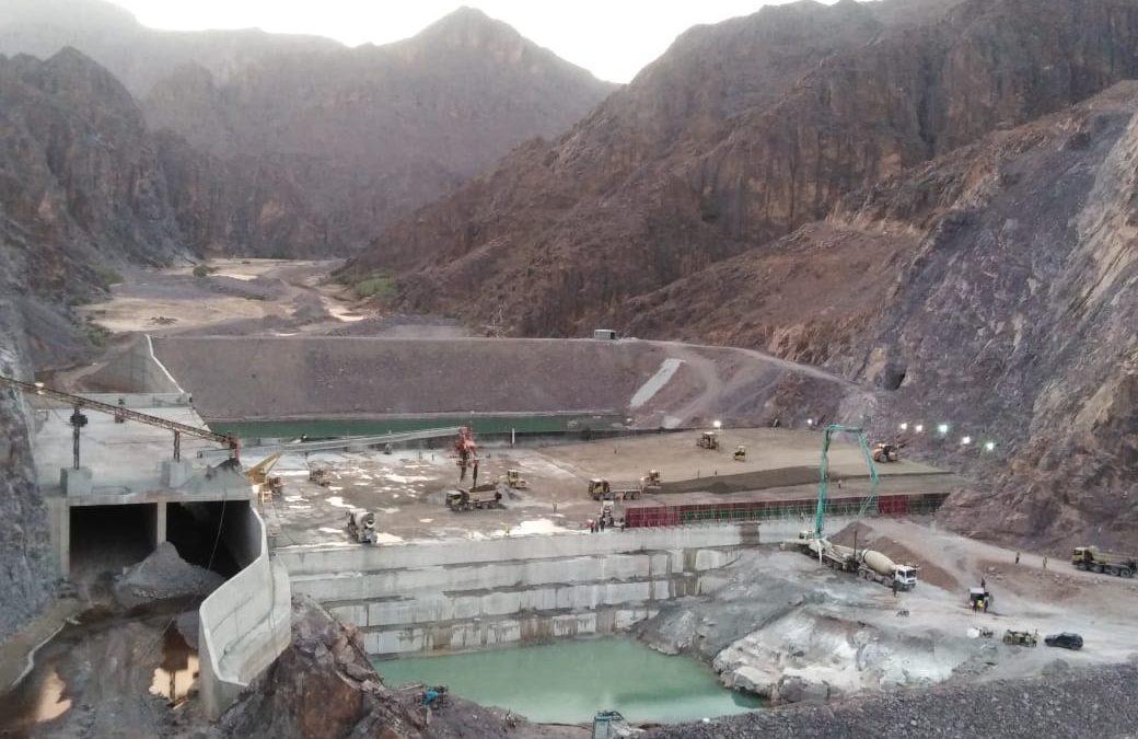 Trois grands Barrages sont en cours de construction par STAM