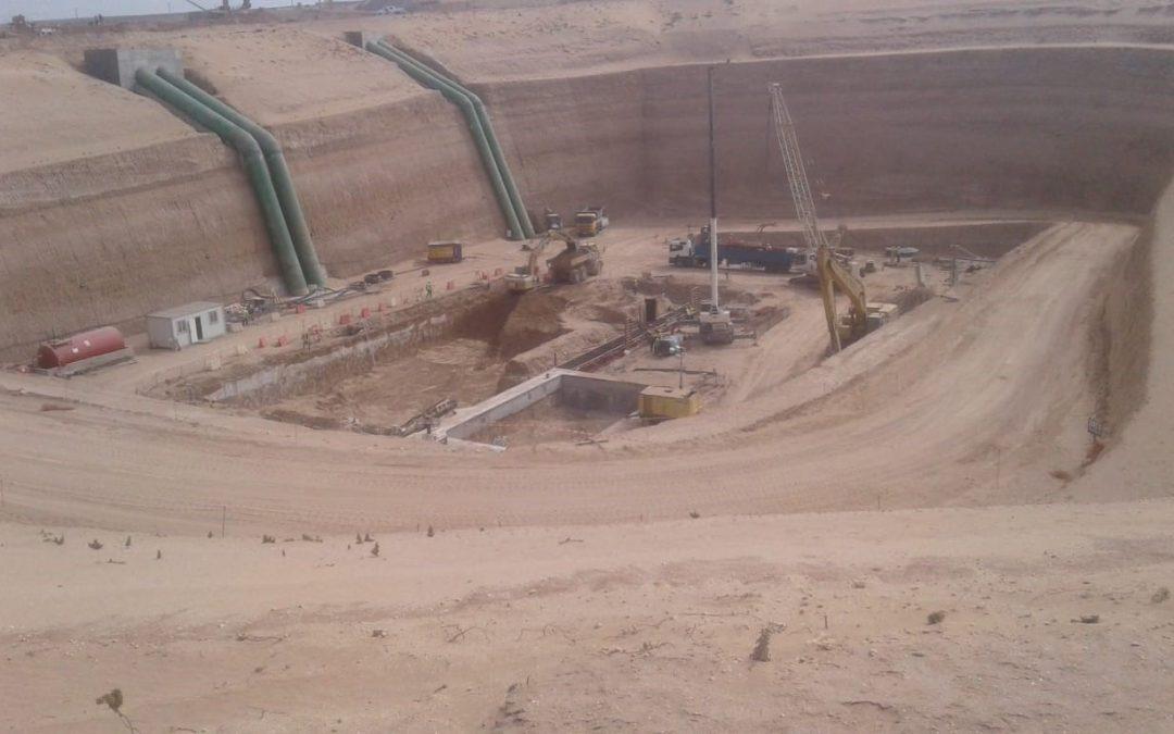 STAM a lancé la construction d'une Station de Dessalement à AGADIR