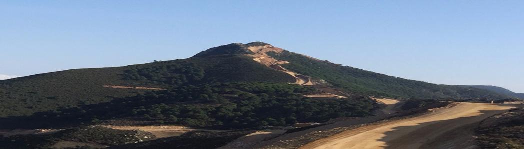 Construction d'un parc éolien Khalladi près de Tanger