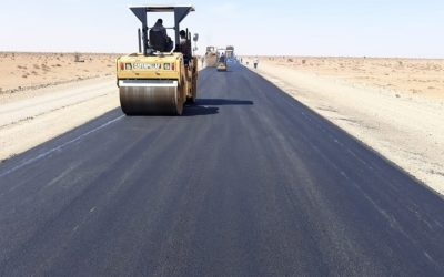 Livraison de la Route Bénichab 1 & démarrage de la route Bénichab 2